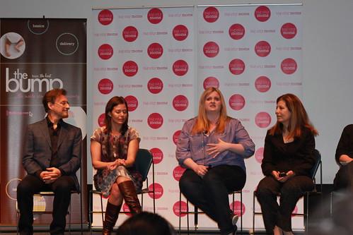 Rachel Lincoln Sarnoff, Wendy Haldeman, Dr. Harvey Karp, Katie Vaughn, Dr. JJ Levenstein