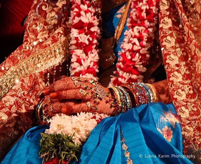 Bridal Hands....