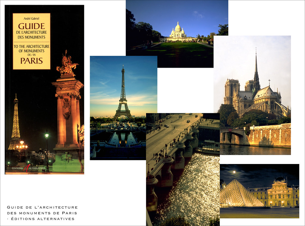 Guide to the architecture of monuments in Paris - Editions Alternatives