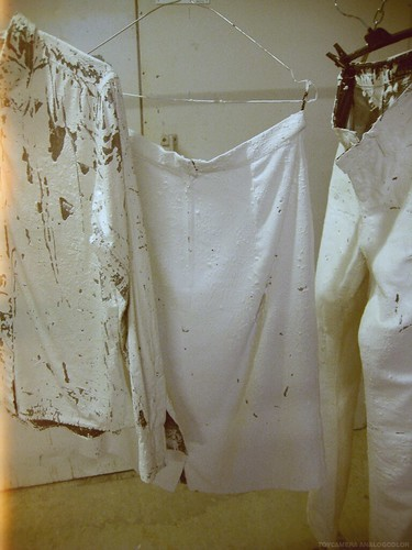 DIY Margiela Painted clothes