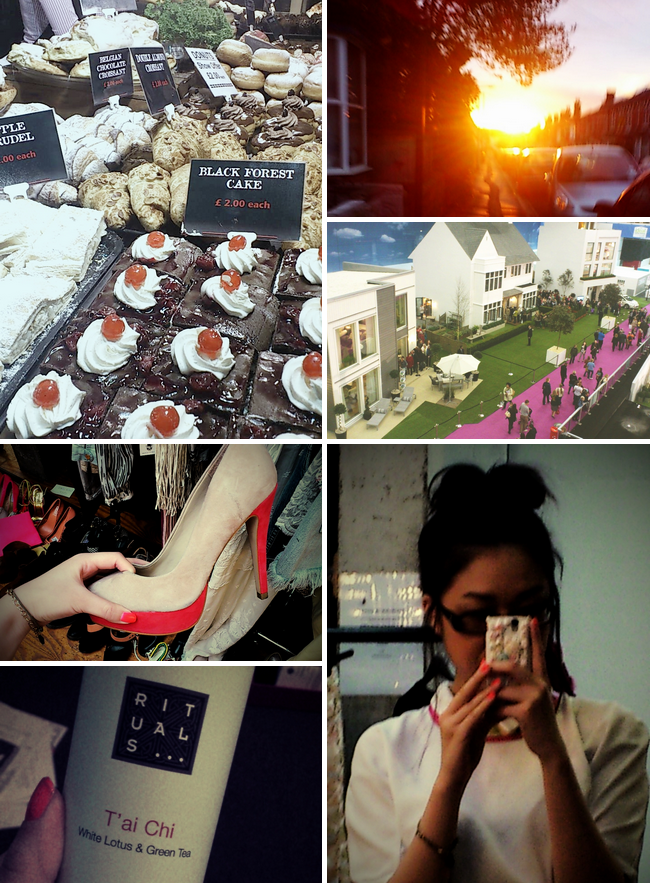 daisybutter - UK Style Blog: week in photos, the ideal home show 2012, zara, rituals