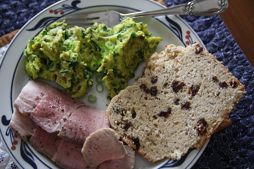 green eggs and ham + irish soda bread