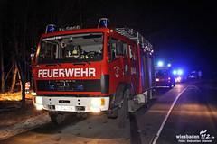Tödlicher Unfall B260 Heidenrod 10.02.12