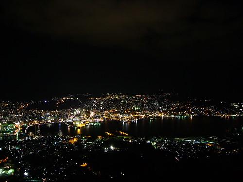 sea night nagasaki kyushu