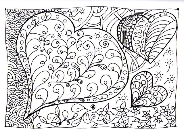 Free Coloring Pages Of Zendoodle