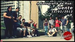 Turma presente na edição de 12/02/12 do curso A Fotografia de Rua!