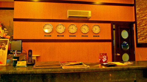 The Front Desk at Eurotel Baguio