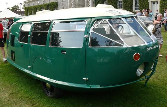 Dymaxion green 1933 Type vr