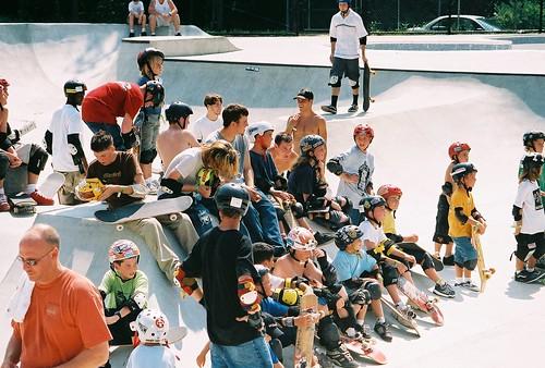 Skateboarders, Skatepark, Nicolet Park, Lexington Park