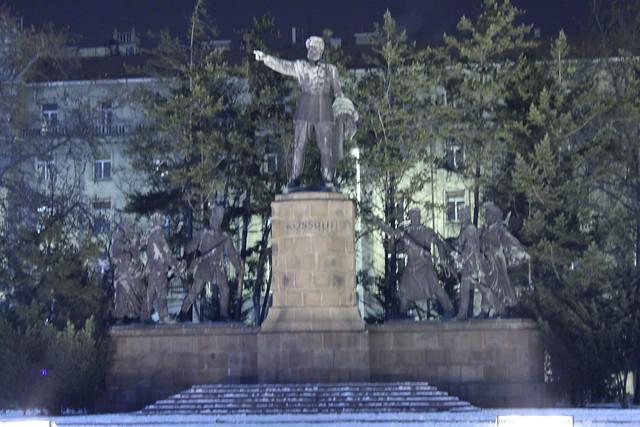 Estatua de Lajos Kossuth en Budapest