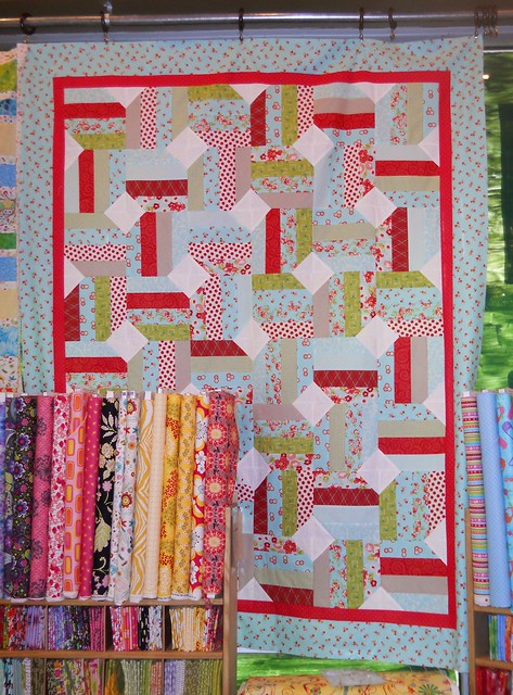 Jelly Bean Quilt, by Thimble Blossoms