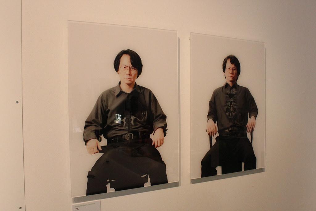 Ishiguro & Geminoid, June 2009