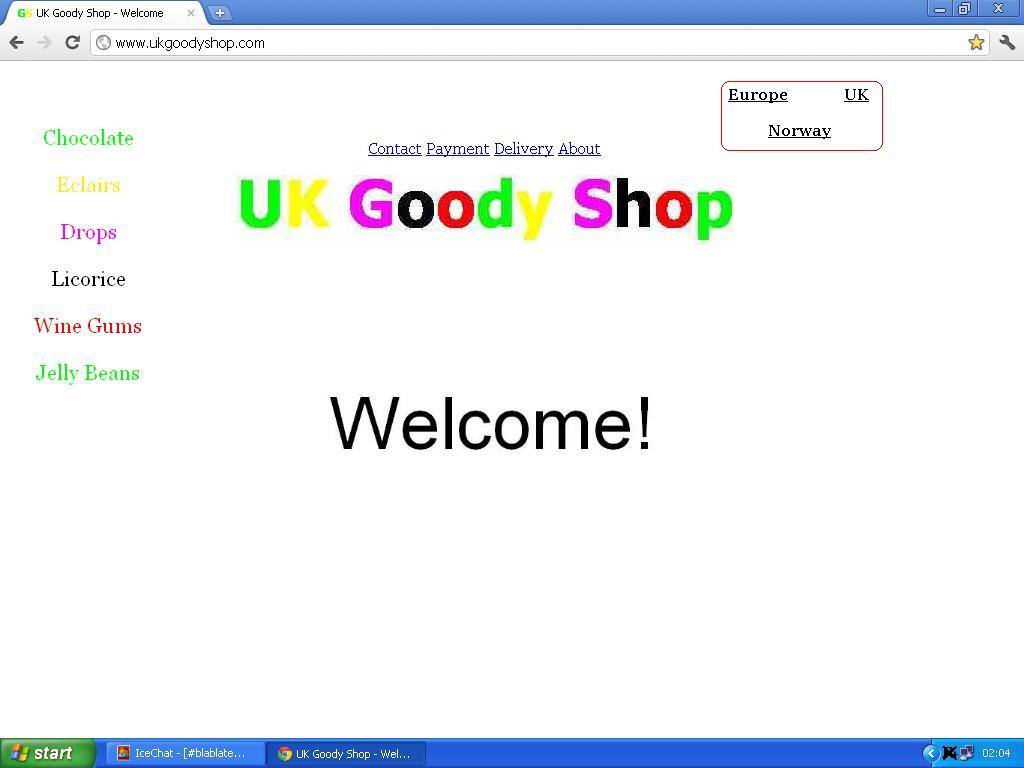 ny design tre nettbutikker lenket