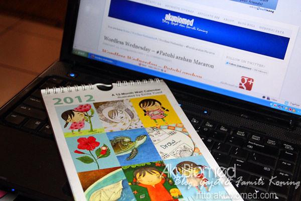 Kalendar 2012 @EmilaYusof