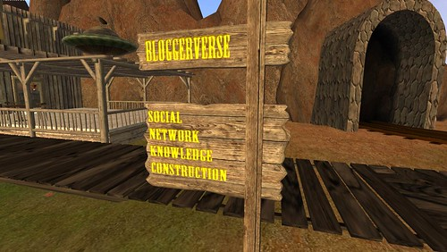 Blogerverse Sign