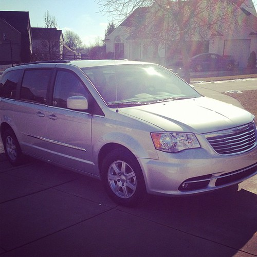 Day 16 - New - Bye bye Yukon, back to a Chrysler Town & Country! #febphotoaday #newcar