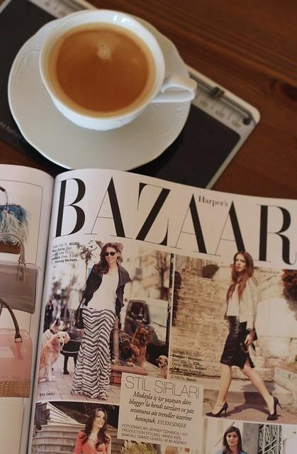 harper's bazaar türkiye, basında off ne giysem