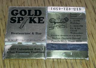Gold Spike.