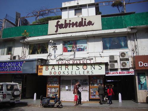 Delhi India ~ Khan Market ~  Bahrison Bookseller