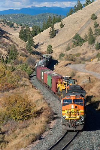 train montana freight bnsf mrl freighttrain montanaraillink mullanpass austinmontana