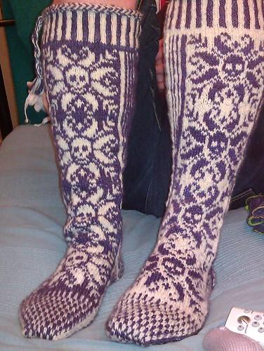 Sam' Goth Socks a6