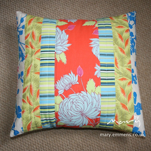 Quilted cushion - front