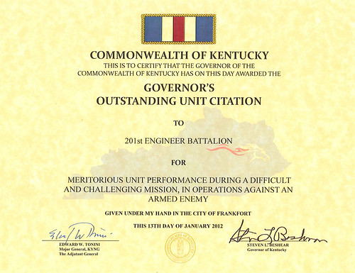 Governor's Outstanding Unit Citation