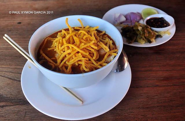 Khao Soi Curry Noodle Dish, Thailand