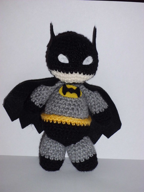 Amigurumi Crochet Batman : Amigurumi Batman Flickr - Photo Sharing!