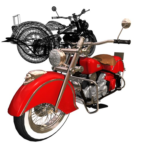 Indian Motorcycle 3D Model