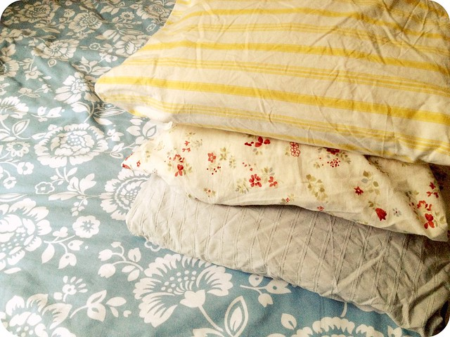 organise your duvet cover sets