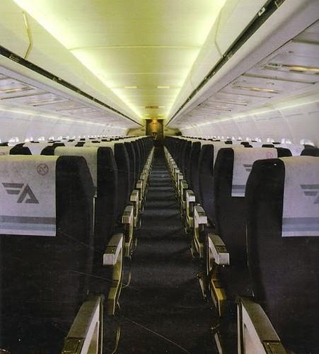 Interior Cabina de Pasaje MD-83 de Aviaco