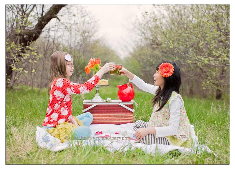 Lydia Grace picnic