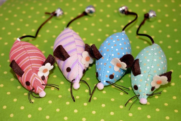 Martha Stewart Catnip Mice from Petsmart