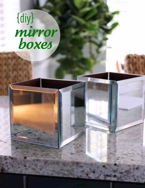Hi Sugarplum DIY Mirror Boxes