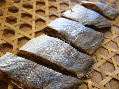 Chinese salted fish chinese recipes at for Dried salted fish
