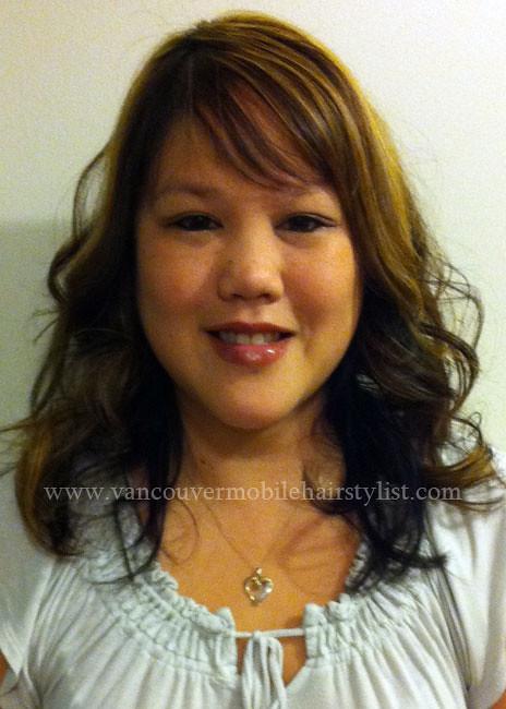 Asian Hair Highlights Layered Haircut Victoria Flickr