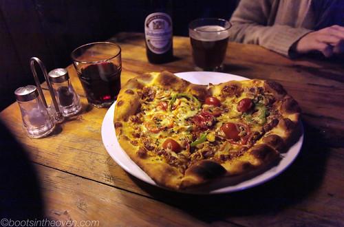 Valentine's pizza (say it... AWWWW)