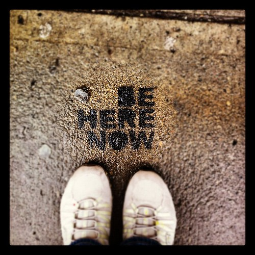 Be here now by Kate Daniel