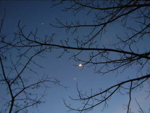 Moon, Venus & Jupiter, 25 February 2012 _ 0309 - 500