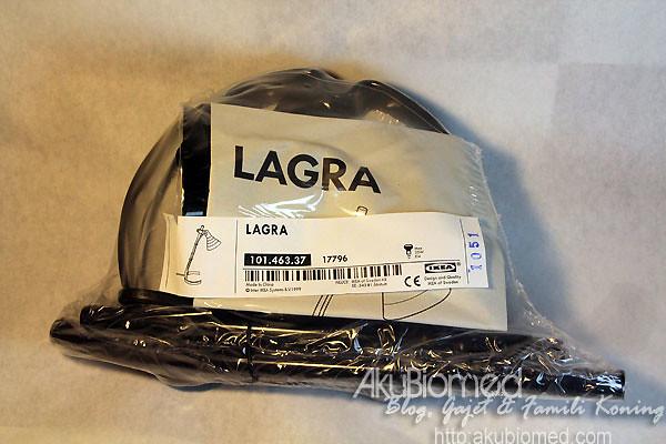 Lampu meja Lagra daripada Ikea
