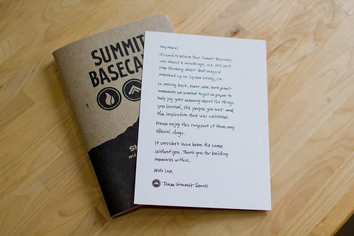 Summit Basecamp: Sketchnote Note & Booklet