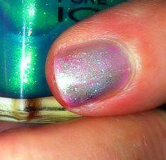 nail closeup