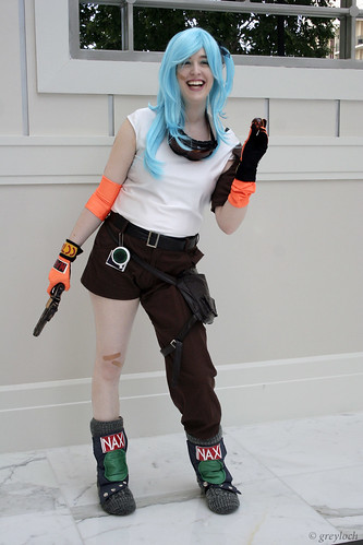 dragonball cosplay  Bulma