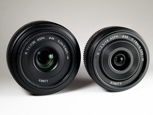 Panasonic 20mm vs Panasonic 14mm