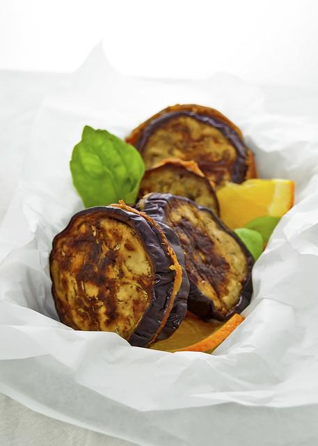 Eggplant Cordon-Bleu Sicilian style