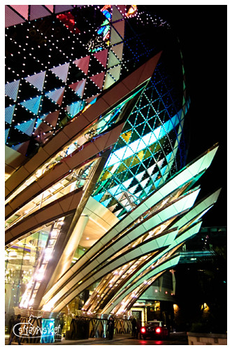 grand lisboa by night