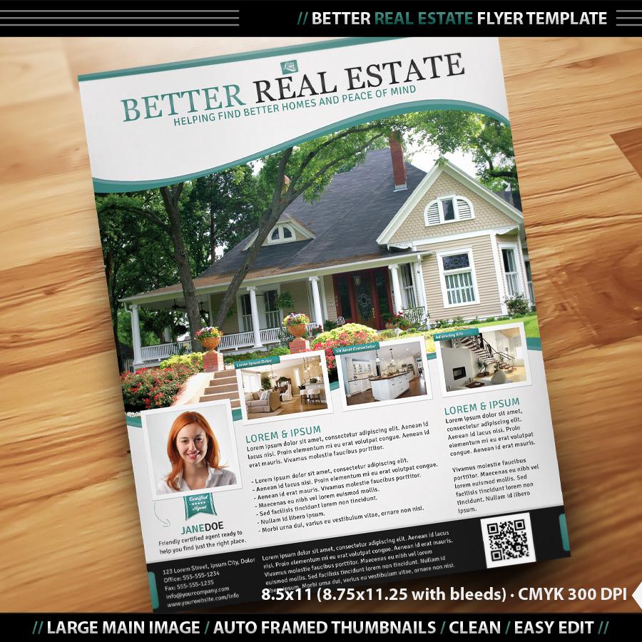 Publisher Real Estate Flyer Templates Real Estate Brochure Template