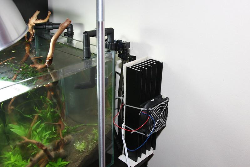 Making a diy aquarium chiller cooler questions novice for Fish tank water cooler