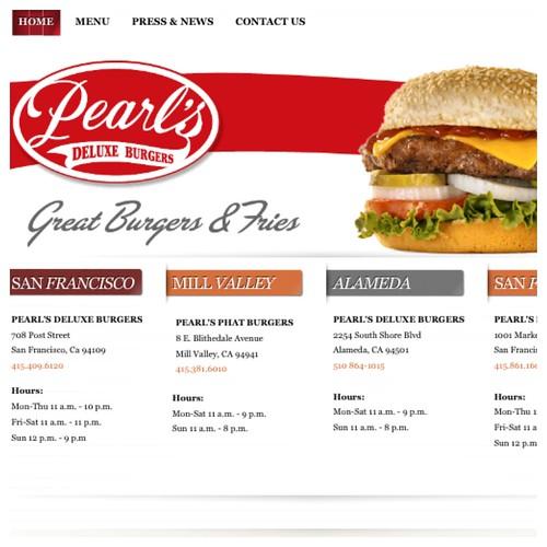 Pearl burgers San Francisco